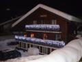 Chalet Pleney at night 2